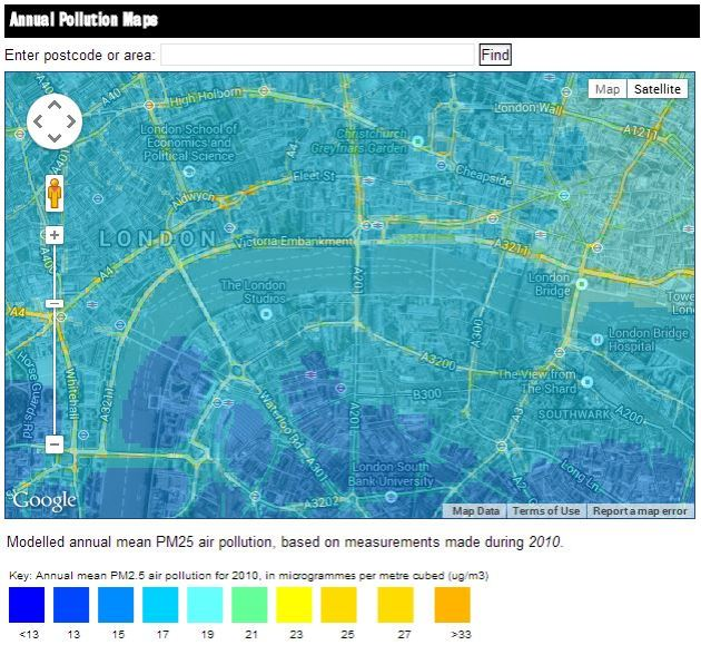 pm2 5 map bsria