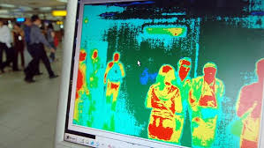 Thermal image crowd